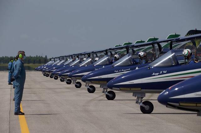 Frecce Tricolori Rivolto Airshow 2021