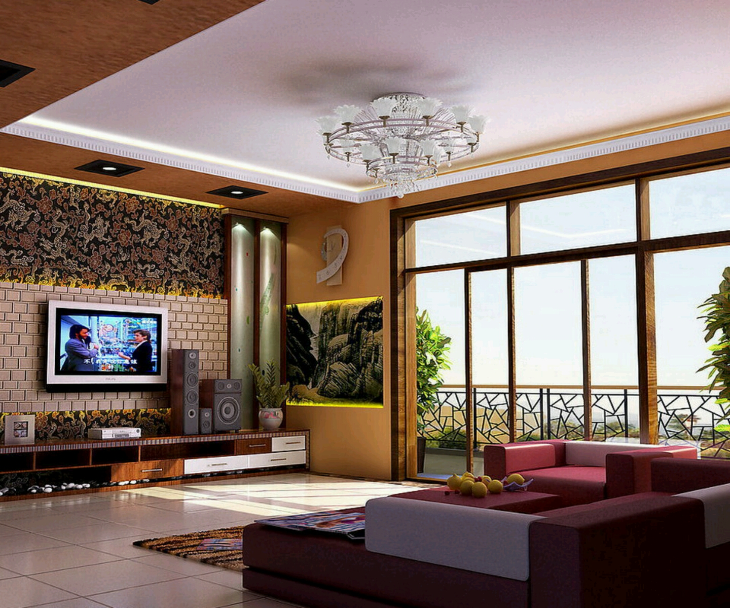 Home Ideas Pakistan: New Home Designs Latest.: Modern Living Room Designs Ideas