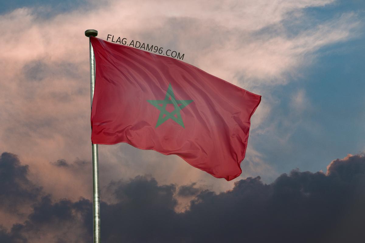 اجمل خلفية علم المغرب يرفرف في السماء خلفيات علم المغرب 2021