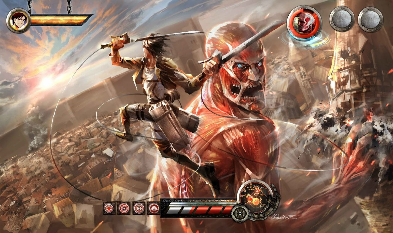 aotvg2014 - Attack on Titan: Wings of Freedom (VPK) PS VITA