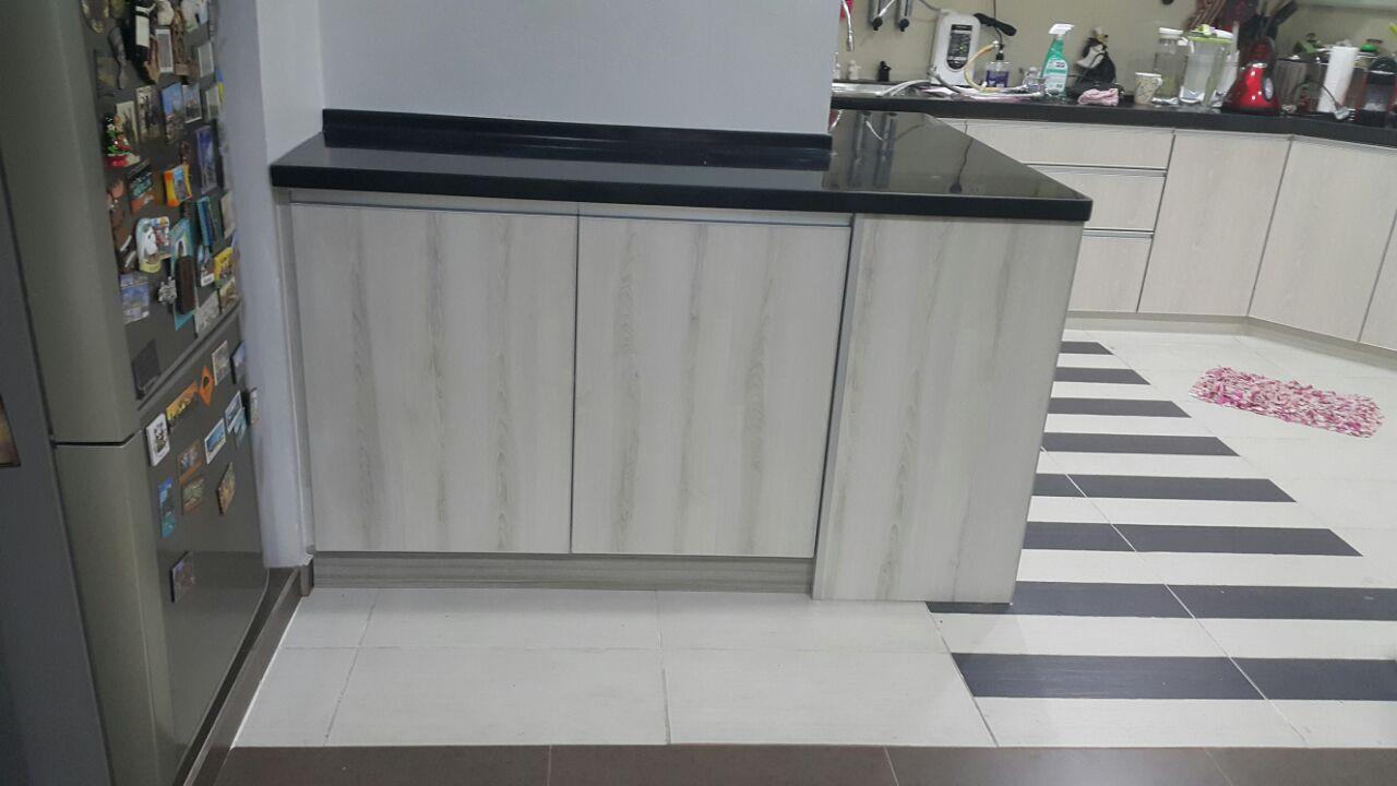 Tambah Kabinet Dapur Jalan Gasing Pj
