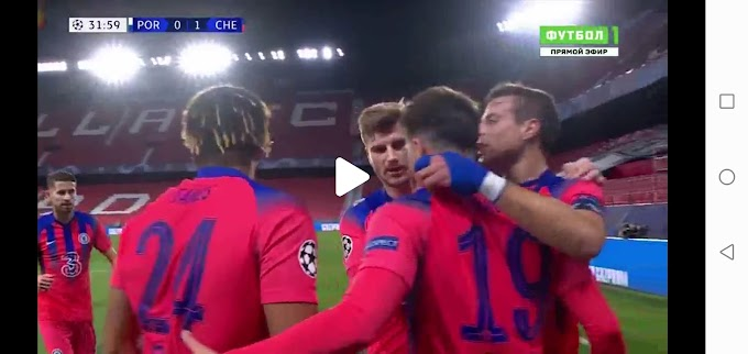 Porto  0:2  Chelsea / Champions League