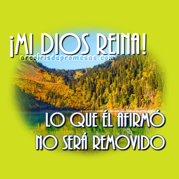 Reflexiones cristianas con imágenes El Señor es mi Rey