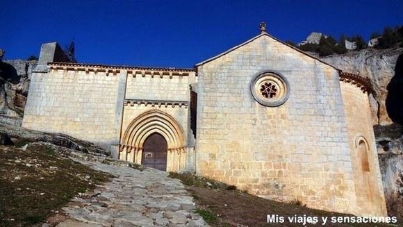 Ermita de San Bartolomé. Parque Natural del Cañón del río Lobos, Soria