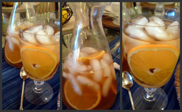 Orange Iced Tea - what's better than tea with juicy oranges in it? Simply refreshing!   Slice of Southern