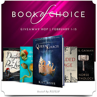 Book of Choice February Giveaway banner