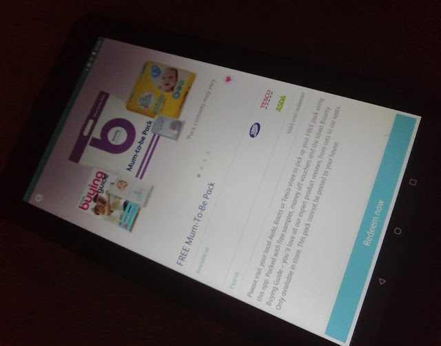 Bounty pregnancy and baby app to get Bounty Packs