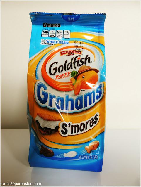 Goldfish Sabor a S'mores
