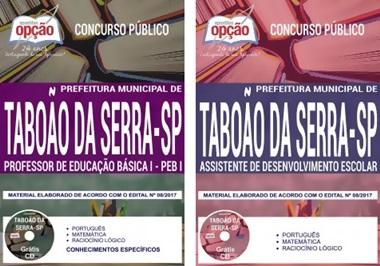 Apostila Prefeitura de Taboão da Serra 2018