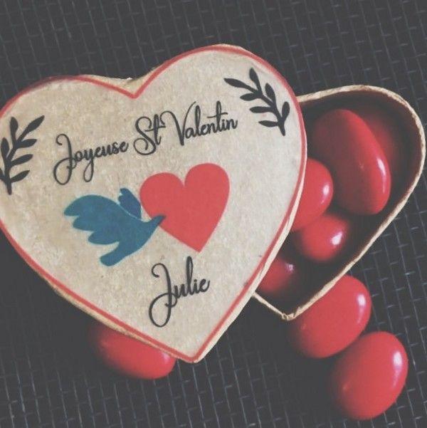 Dragées édition Saint-Valentin de la Maison Rosière Marseille