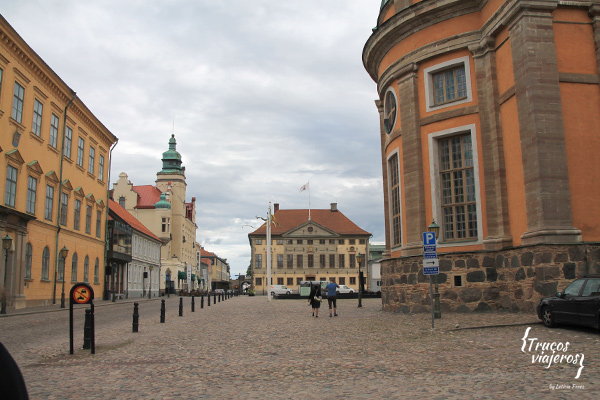 centro de la ciudad de Kalmar Suecia