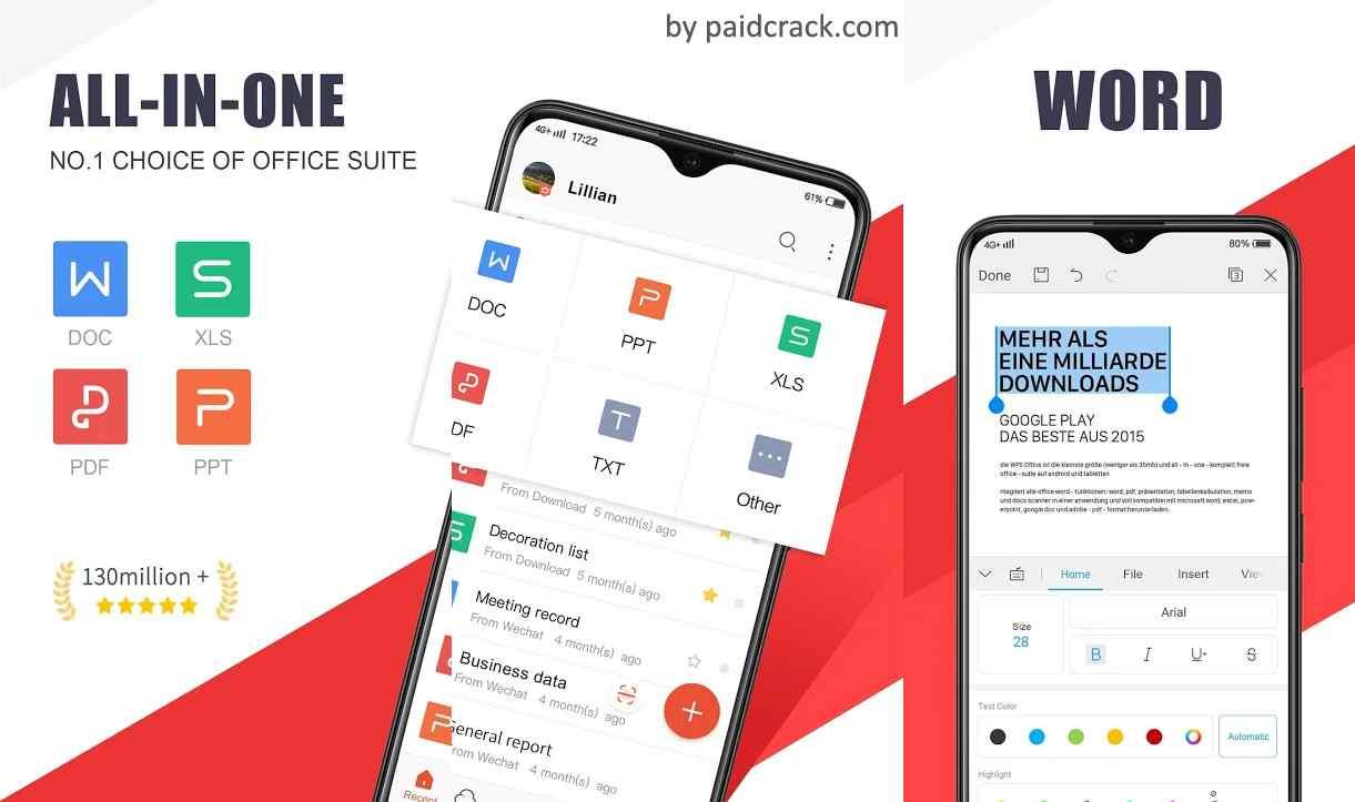 WPS Office Premium Mod Apk 13.5