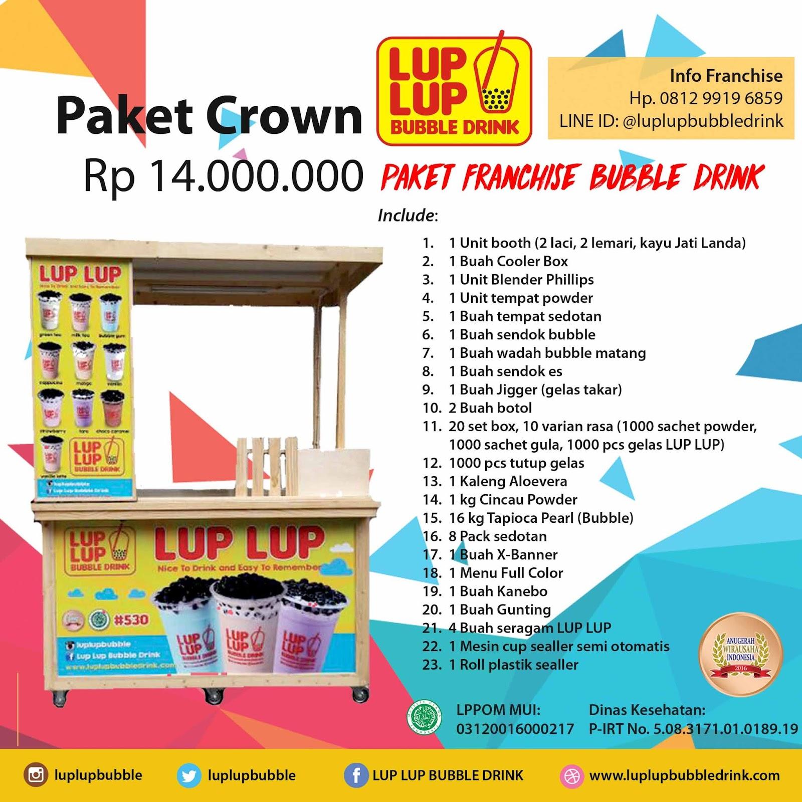 Jakarta Bubble Tea Supplies Franchise Drink Big  Bubuk Perasa Minuman Susu Segar Syarat Sukses Bisnis