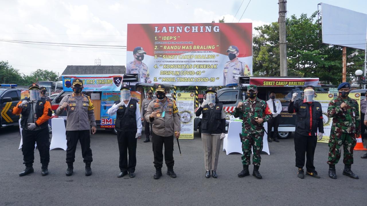 Kapolda Jateng Luncurkan Tiga Inovasi Pelayanan Publik di Purbalingga