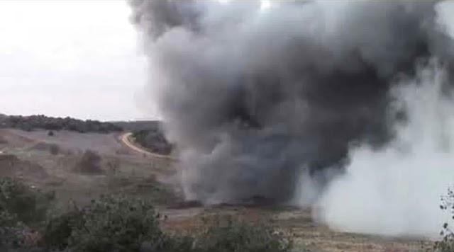 Βλήμα από στρατιωτική άσκηση σκότωσε 7 πρόβατα: Είχαν μπει στο πεδίο βολής λέει ο στρατός (BINTEO)