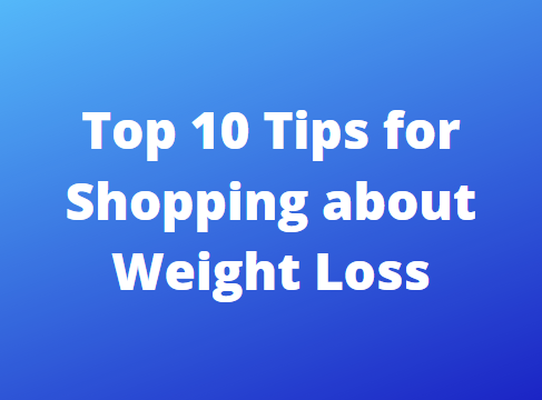 10 Tips For Weight Loss Shopping 2020