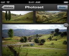 Tumbler Photoset Application For iOS