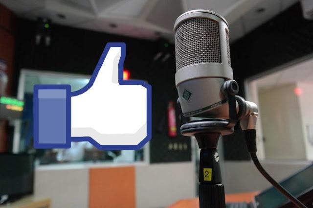 emitir radio online por facebook