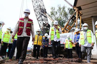 Pemkot Palembang Garap Program  Restorasi Sekanak Lambidaro