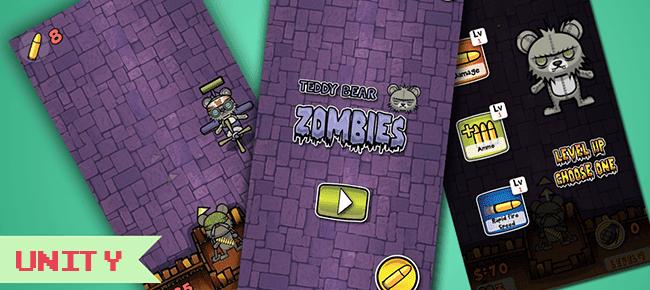 Download Source Code Reskin Game Unity Zombie Bear Night