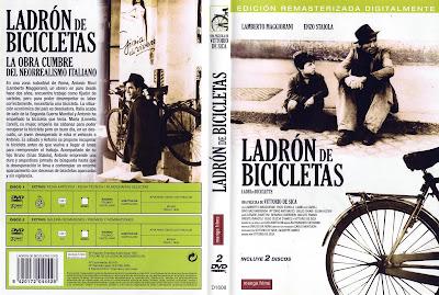 Carátula dvd 2: Ladrón de bicicletas (1948) (Ladri di biciclette)