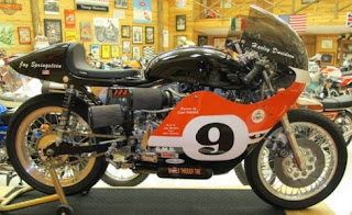 xr 750 tt road racer replica side right