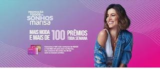 Promoção Marisa 2020 Todos os Sonhos Cartões - 100 Prêmios Por Semana