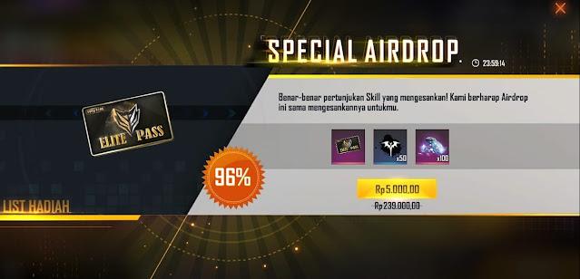 spesial airdrop 5k