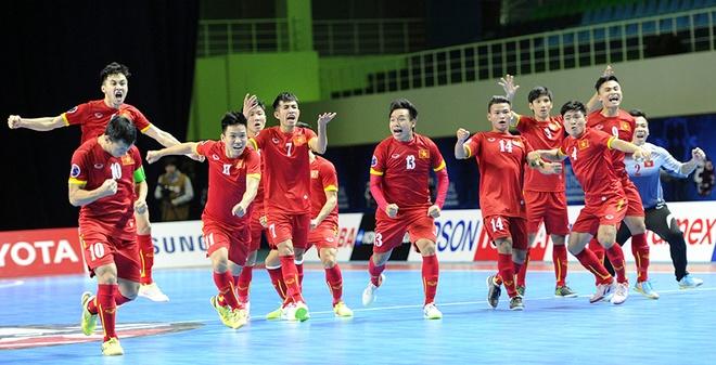 Cần 4 điểm để Futsal Việt Nam đi tiếp Futsal World Cup 2016