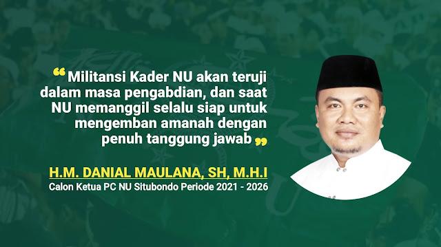 Profil Lengkap Danial Maulana, Sosok yang Mencuat Jelang Konfercab NU Situbondo 2021