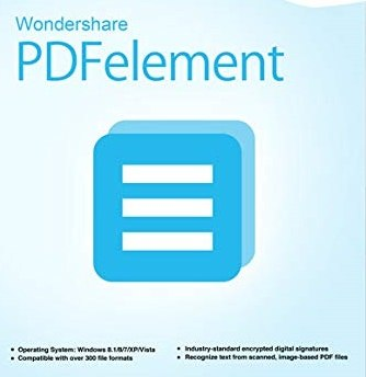 تحميل برنامج تحرير وطباعة ملفات البى دى إف Wondershare PDFelement