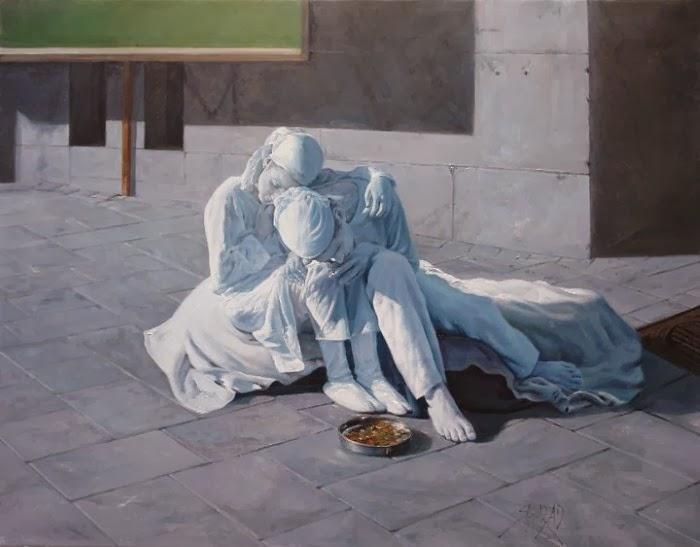 Современный иранский художник. Shahrzad Hazrati