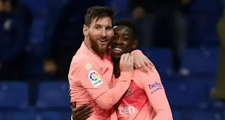 Dembele reveals Messi inspired him as a kid and he inspires me now