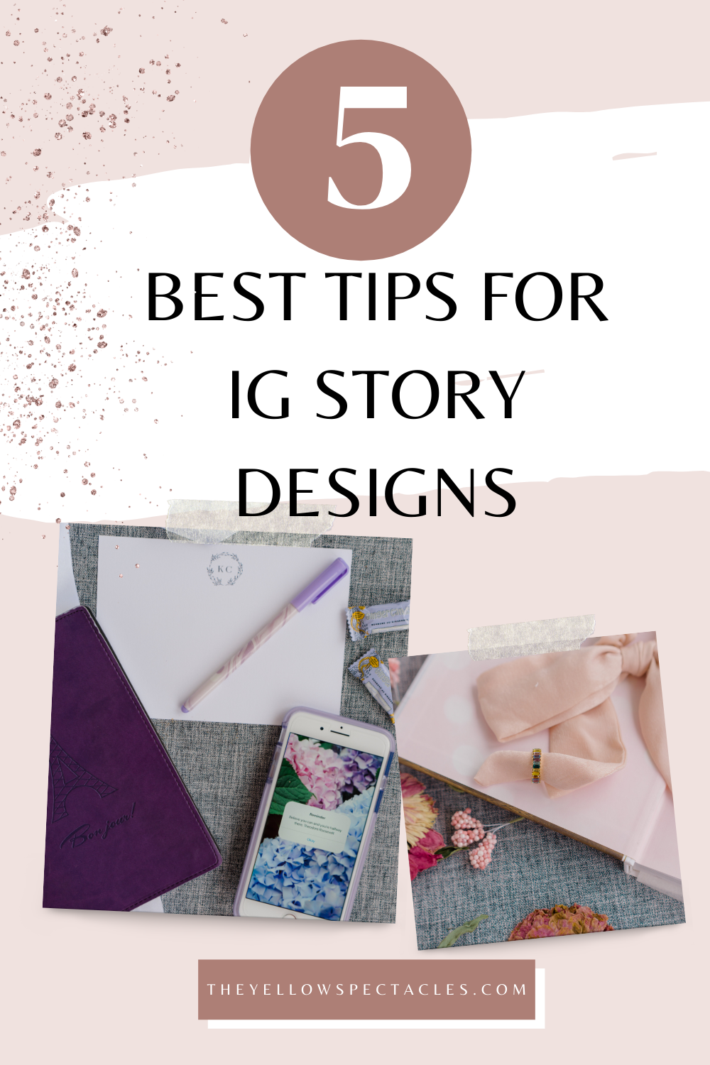 Five Tips to Creating Aesthetically Consistent Instagram Stories @Katelynchef on Instagram