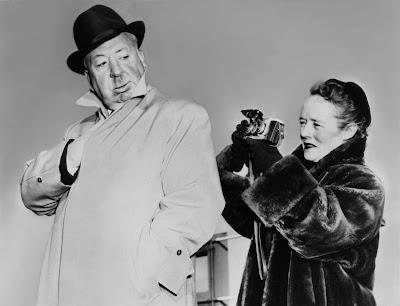 Alfred Hitchcock e sua esposa Alma - Divulgação