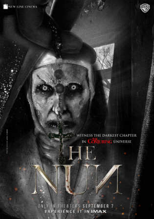 The NUN (2018) Dual Audio 720p BluRay x264 [Hindi – English] ESubs