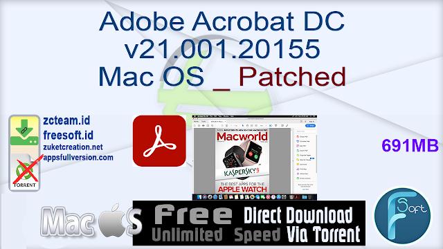 Adobe Acrobat DC v21.001.20155 Mac OS _ Patched_ ZcTeam.id