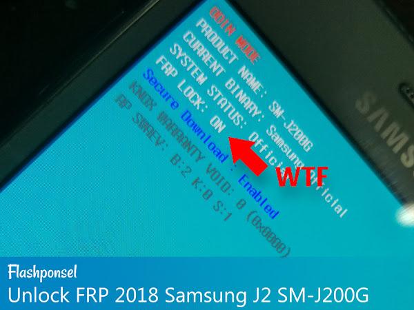 FRP 2018 Samsung J2 SM-J200G