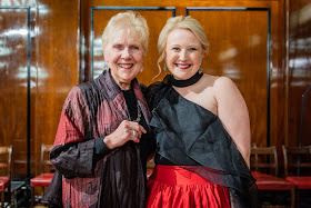 The Grange Festival International Singing Competition - Dame Felicity Palmer with Kiandra Howarth (1st Prize) - (Photo Robert Workman)