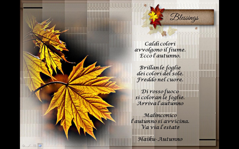 Famoso Gianna : il bene in noi: L'autunno visto da autori famosi VS75