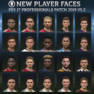 European faces PES Professionals Patch – بعض الوجوه الاوروبية من الابديت