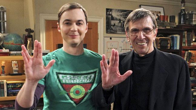 Spock y Sheldon