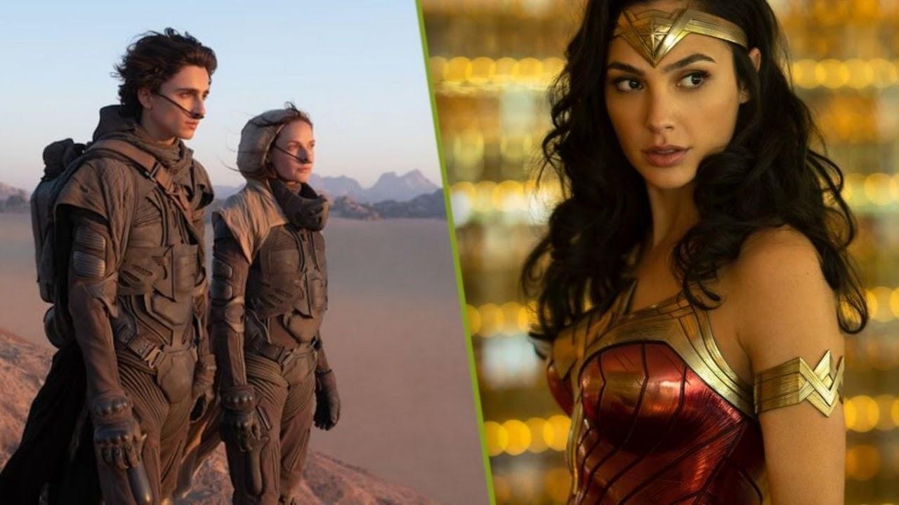 Trailers de 'Mulher Maravilha 1984' e 'Duna' podem chegar em agosto