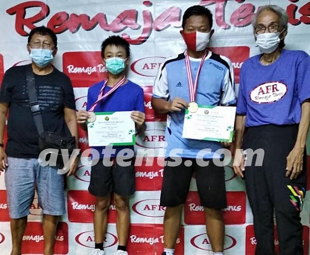 Kalahkan Joachim Mika Gunawan, Arviansyah Galih Juara KU 18 Turnamen RemajaTenis Jakarta-89