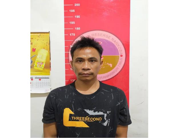 Pria Tidak Tamat SD ini, Diamankan Bersama 14 Paket Sabu