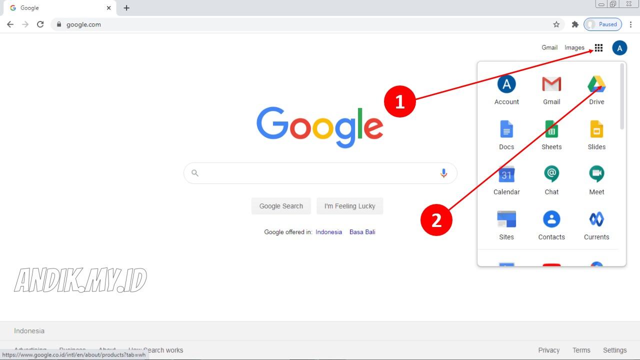 Cara Download File Google Drive Milik Sendiri Dan Orang Lain Andik My Id