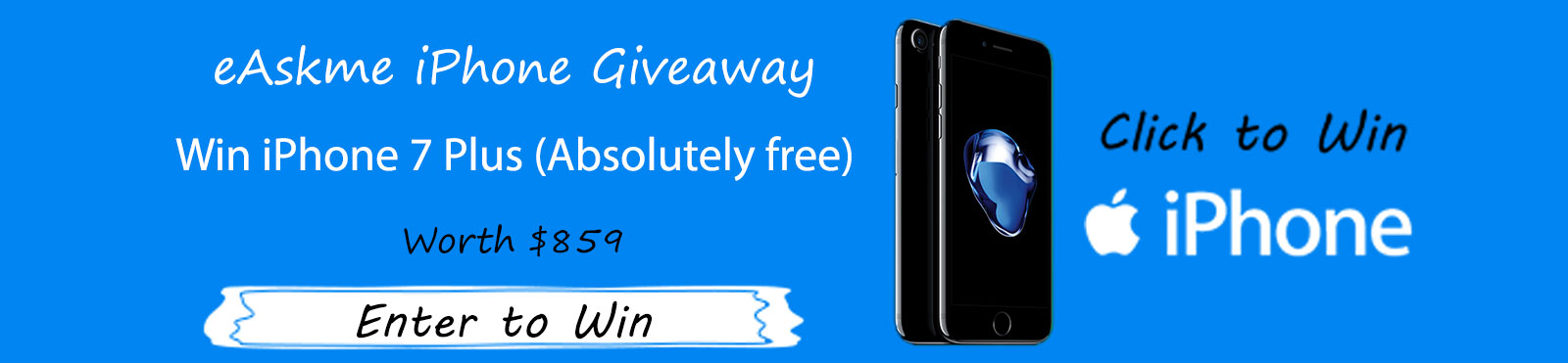 eAskme iPhone Giveaway