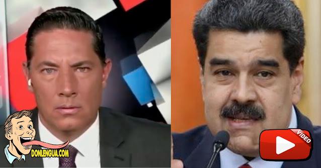 Fernando del Rincón le da hasta con el tobo a Maduro por decir que ve su programa de TV