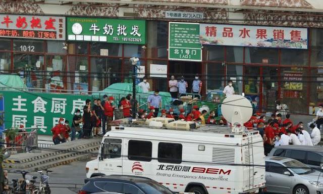 China Menghadapi Gelombang Kedua Covid-19, Sekarang di Beijing