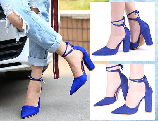 Jika chunky heels menjadi salah satu sepatu hak tinggi model sekarang yang  disukai banyak wanita 592a00489e